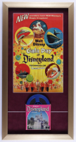 "Disneyland's ""Gala Day"" 15x28.5 Custom Framed Souvenir Vintage 8mm Film Reel Display with Original Box (See Description) at PristineAuction.com"