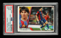 Lionel Messi 2007 Mundi Cromo Ediciones Estadio Liga #33 (PSA 9) (OC) at PristineAuction.com