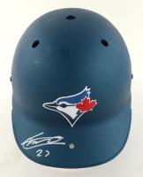 Vladimir Guerrero Jr. Signed Full-Size Batting Helmet (JSA COA) (See Description) at PristineAuction.com