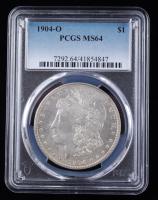 1904-O Morgan Silver Dollar (PCGS MS64) at PristineAuction.com