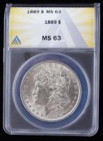 1889 Morgan Silver Dollar (ANACS MS63) at PristineAuction.com