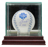 """Jose Altuve Signed 2012 All-Star Baseball Inscribed """"1st ASG"""" with Display Case (JSA COA) at PristineAuction.com"""