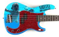 "Krist Novoselic Signed ""Nevermind"" 46"" Full-Size Electric Bass Guitar (JSA COA) (See Description) at PristineAuction.com"
