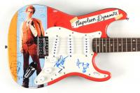 "Jon Heder & Efren Ramirez Signed ""Napoleon Dynamite"" 39"" Electric Guitar With Hand Drawn Sketch (JSA COA & PSA COA) (See Description) at PristineAuction.com"