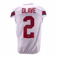 Chris Olave Signed Jersey (Beckett COA) at PristineAuction.com