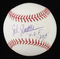 "Sgt. Slaughter Signed OML Baseball Inscribed ""H.O.F. 2004"" (PSA COA) at PristineAuction.com"