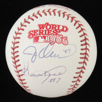 Jesse Orosco & Kevin Mitchell Signed 1986 World Series Baseball (PSA COA) at PristineAuction.com