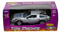 """Christopher Lloyd Signed """"Back to the Future"""" DeLorean Time Machine 1:24 Scale Die-Cast Car (JSA COA) at PristineAuction.com"""