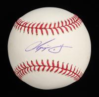 Chipper Jones Signed OML Baseball (PSA COA) at PristineAuction.com