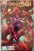 "Stan Lee, J. Scott Campbell, & Joe Madureira Signed 2014 ""Inhuman"" Issue #1 Campbell Variant Marvel Comic Book (Beckett LOA) at PristineAuction.com"