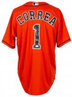 Carlos Correa Signed Astros Majestic Jersey (JSA COA) at PristineAuction.com