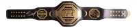 Francis Ngannou Signed Full-Size UFC World Championship Replica Belt (Beckett COA) at PristineAuction.com
