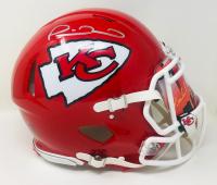 Patrick Mahomes Signed Kansas City Chiefs Full-Size Authentic On-Field Speed Helmet with Custom Visor (Fanatics Hologram) at PristineAuction.com
