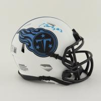 Caleb Farley Signed Titans Lunar Eclipse Alternate Speed Mini Helmet (Beckett Hologram) at PristineAuction.com