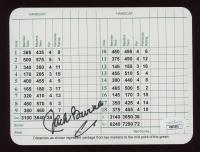 Jack Burke Signed Augusta National Golf Club Score Card (JSA COA) at PristineAuction.com