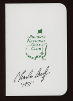 """Charles Coody Signed Augusta National Golf Club Score Card Inscribed """"'1971"""" (JSA COA) at PristineAuction.com"""