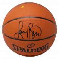 Larry Bird Signed NBA Silver Series Basketball (JSA COA & Bird Hologram) at PristineAuction.com
