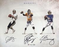 Archie Manning, Peyton Manning & Eli Manning Signed 16x20 Photo (Fanatics Hologram) at PristineAuction.com