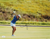 Stacy Lewis Signed 11x14 Photo (JSA COA) at PristineAuction.com