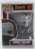"Corey Taylor Signed ""Slipknot"" #177 Funko Pop! Vinyl Figure (Beckett Hologram) (See Description) at PristineAuction.com"