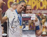"Shannon Boxx Signed Team USA 8x10 Photo Inscribed ""USA"" (JSA COA) at PristineAuction.com"