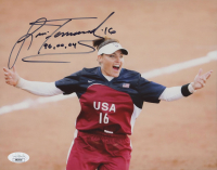 "Lisa Fernandez Signed Team USA 8x10 Photo Inscribed ""96, 00, 04"" (JSA COA) at PristineAuction.com"