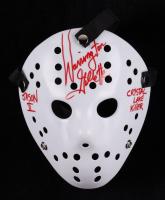 "Warrington Gillette Signed ""Friday the 13th"" Mask Inscribed ""Jason II"" & ""Crystal Lake Killer"" (Legends COA) at PristineAuction.com"