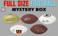 Schwartz Sports Full-Size Football Signed Mystery Box - Series 28 (Limited to 150) at PristineAuction.com