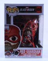 "David Harbour Signed ""Black Widow"" #608 Red Guardian Funko Pop! Vinyl Figure (JSA COA) (See Description) at PristineAuction.com"