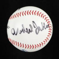 Kareem Abdul-Jabbar Signed OML Dodgers Logo Baseball (PSA COA) at PristineAuction.com
