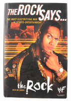 """The Rock Signed """"The Rock Says..."""" Hardcover Book (JSA ALOA) (See Description) at PristineAuction.com"""