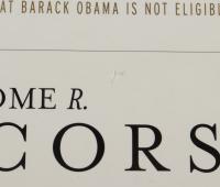 "Jerome Corsi Signed ""Where's The Birth Certificate?"" Hardcover Book (JSA COA) (See Description) at PristineAuction.com"