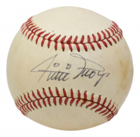 Willie Mays Signed ONL Baseball (PSA COA) at PristineAuction.com