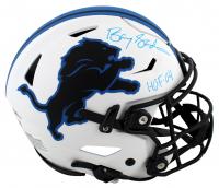 "Barry Sanders Signed Lions Full-Size Authentic On-Field Lunar Eclipse Alternate SpeedFlex Helmet Inscribed ""HOF - 04"" (Beckett Hologram & Schwartz COA) at PristineAuction.com"