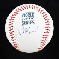 Will Smith Signed 2020 World Series Baseball (MLB Hologram) at PristineAuction.com