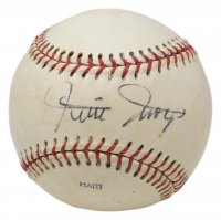 Willie Mays Signed Baseball (PSA COA) (See Description) at PristineAuction.com