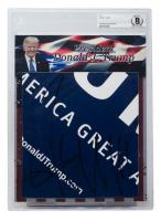 Donald Trump Signed Cut (BGS Encapsulated) at PristineAuction.com