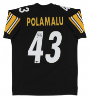 Troy Polamalu Signed Jersey (Beckett Hologram) at PristineAuction.com