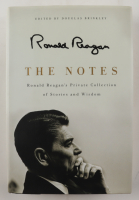 """Douglas Brinkley Signed """"The Notes: Ronald Reagan's Private Collection of Stories and Wisdom"""" Hardcover Book (JSA COA) (See Description) at PristineAuction.com"""