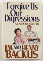 "Jim Backus & Henny Backus Signed ""Forgive Us Our Digressions"" Hardcover Book Inscribed ""Loved And Hugs"" (JSA COA) (See Description) at PristineAuction.com"