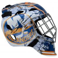 Ilya Sorokin Signed Islanders Full-Size Goalie Mask (Fanatics Hologram) at PristineAuction.com