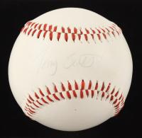 Tony Scott Signed Baseball (JSA COA) (See Description) at PristineAuction.com