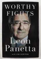 """Leon Panetta Signed """"Worthy Fights"""" Hardcover Book (JSA COA) (See Description) at PristineAuction.com"""