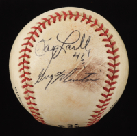 Gary Lavelle & Greg Minton Signed ONL Baseball (JSA COA) (See Description) at PristineAuction.com