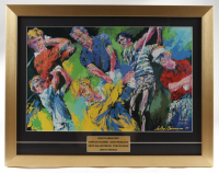 """""""Golf's Greatest"""" LeRoy Neiman 17x22 Custom Framed Print Display Featuring Arnold Palmer & Jack Nicklaus at PristineAuction.com"""