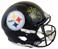 """Troy Polamalu Signed Steelers Full-Size Authentic On-Field Speed Helmet Inscribed """"HOF 20"""" (Beckett Hologram) at PristineAuction.com"""
