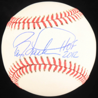 "Barry Larkin Signed OML Baseball Inscribed ""HOF 2012"" (JSA COA) at PristineAuction.com"