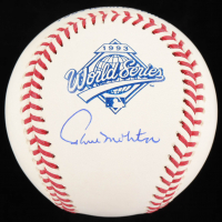 Paul Molitor Signed 1993 World Series Logo Baseball (JSA COA) at PristineAuction.com