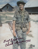 """Chuck Mawhinney Signed 8x10 Photo Inscribed """"Best Regards"""" (Beckett COA) at PristineAuction.com"""