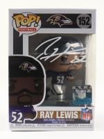 Ray Lewis Signed Ravens #152 Funko Pop! Vinyl Figure (Beckett COA & Denver Autographs COA) (See Description) at PristineAuction.com